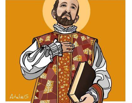 Retiro Santo Inácio - Um Homem, Um Santo. Festa de Santo Inácio de Loyola.