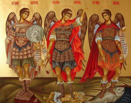 Retiro Ecologia e Espiritualidade. Dia 29. Festa dos Santos Miguel, Gabriel e Rafael, arcanjos
